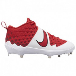 Nike Force Trout 4 Youth Nike Force Air Trout 6 Pro - Men's University Red/White