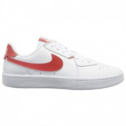 Nike Court Royale Red Nike Court Blanc - Women's White/Track Red/Black