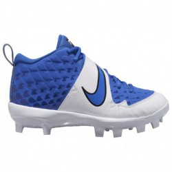 Nike Force Trout 3 Youth Nike Force Trout 6 Pro Mcs Bg - Boys' Grade School Game Royal/White