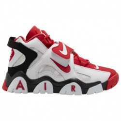 Nike Air Barrage MID Red And White Nike Air Barrage Mid - Men's White/University Red/Black